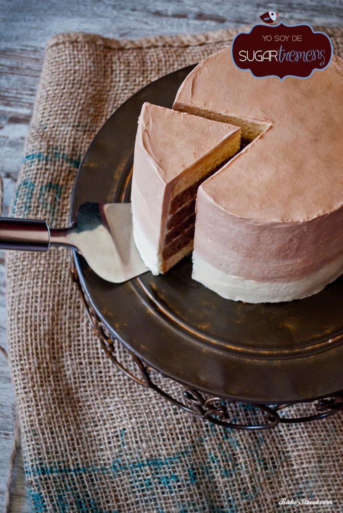 Ombre Cake tres chocolates para Sugartremens