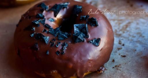 Pretzel donuts